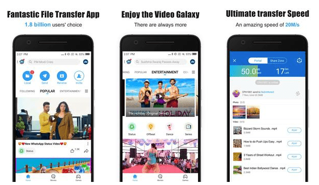 SHAREit apk old version download